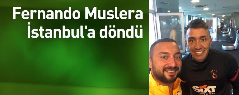 Muslera İstanbul'a döndü