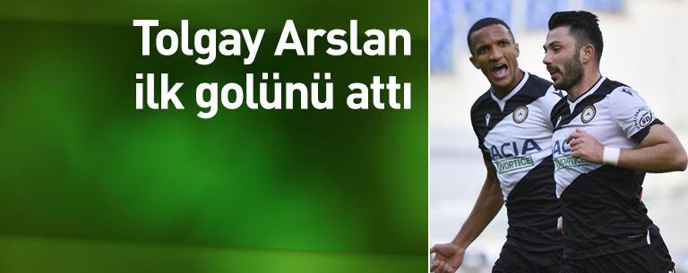 Tolgay Arslan ilk golünü attı