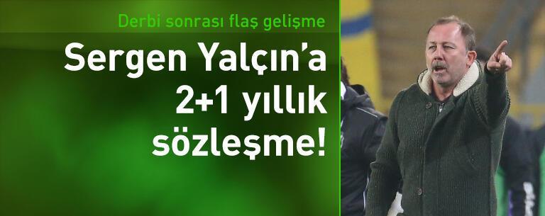 Sergen Yalçın'a 2+1 yıllık sözleşme!