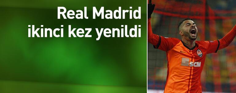 Real Madrid Shakhtar'a yine yenildi