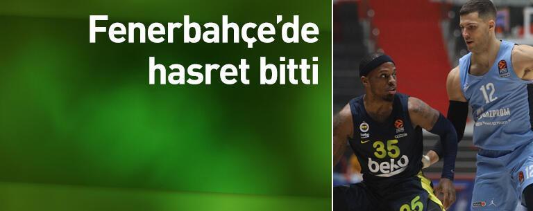 Fenerbahçe'de hasret bitti