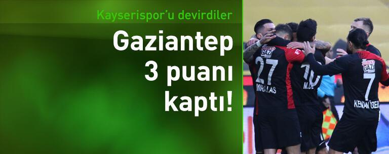 Gaziantep FK - Kayserispor: 2-1