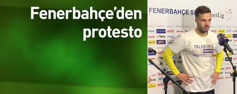 Fenerbahçe'den protesto