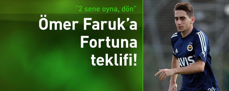 Ömer Faruk Beyaz'a Fortuna Sittard teklifi!