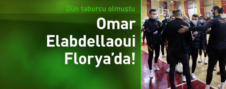 Omar Elabdellaoui'den Florya'ya ziyaret