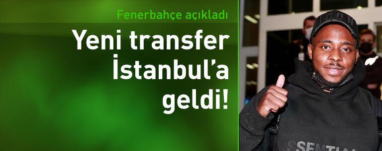 Fenerbahçe'nin yeni transferi Osayi-Samuel İstanbul'da!