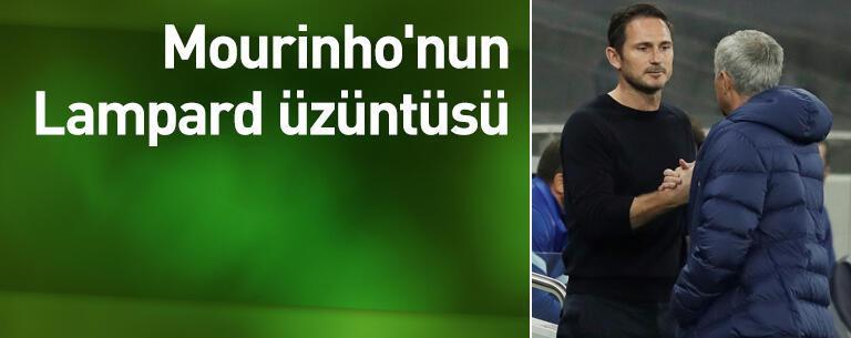 Mourinho'nun Lampard üzüntüsü