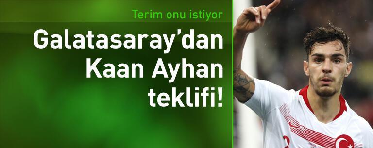 Galatasaray'dan Kaan Ayhan teklifi
