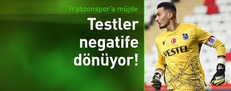 Trabzonspor'da testler negatife dönmeye başladı