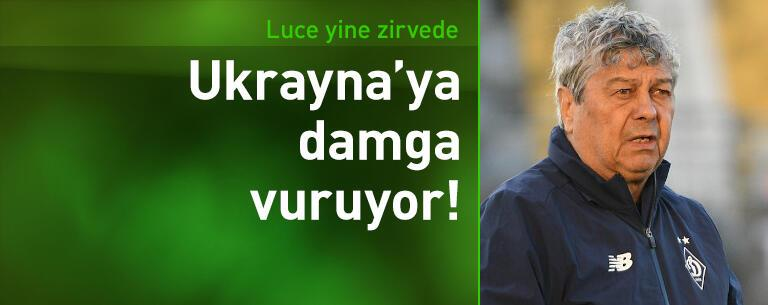 Lucescu Ukrayna futboluna damga vuruyor