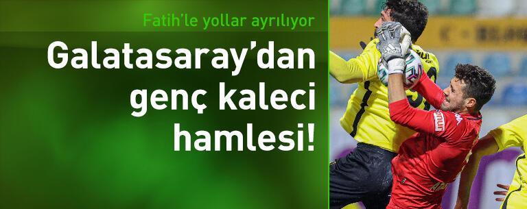 Galatasaray'dan kaleci hamlesi!