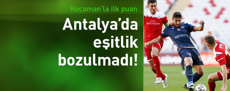 Antalyaspor - Başakşehir: 0-0