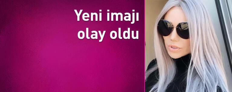 Türkücü Ceylan'ın yeni imajı olay oldu