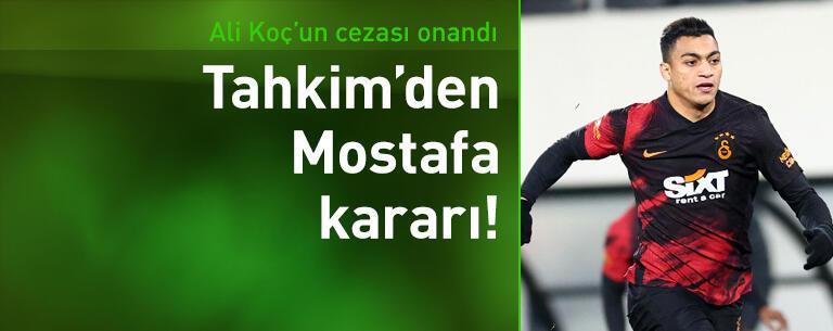 Tahkim Kurulu'ndan Mostafa Mohamed kararı!