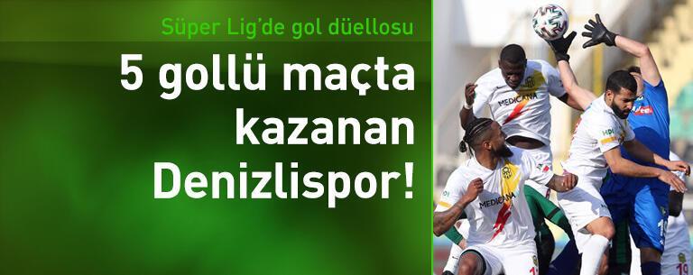 Denizlispor - Yeni Malatyaspor: 3-2