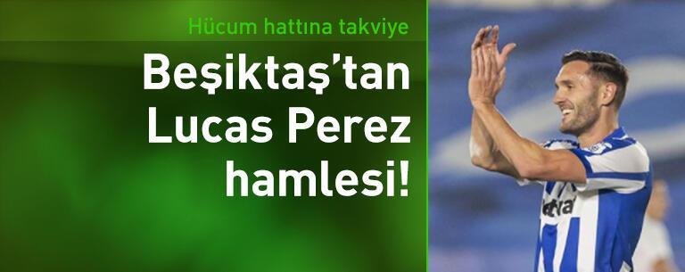 Beşiktaş'tan Lucas Perez hamlesi!
