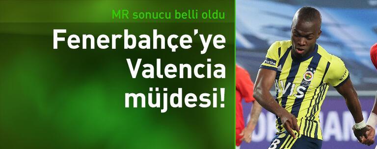 Fenerbahçe'ye Valencia müjdesi!