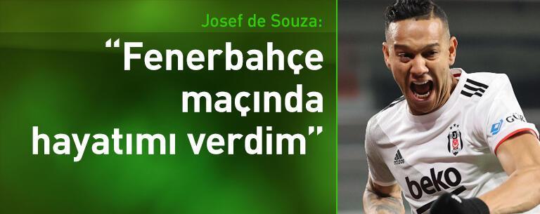 Josef de Souza: Fenerbahçe maçında hayatımı verdim