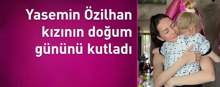 Yasemin Özilhan kızının doğum gününü böyle kutladı