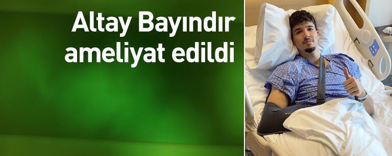 Altay Bayındır ameliyat edildi