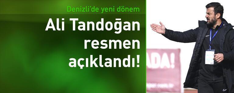 Denizlispor'da Ali Tandoğan dönemi