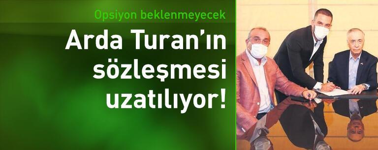 Arda Turan'ın sözleşmesi uzatılıyor!