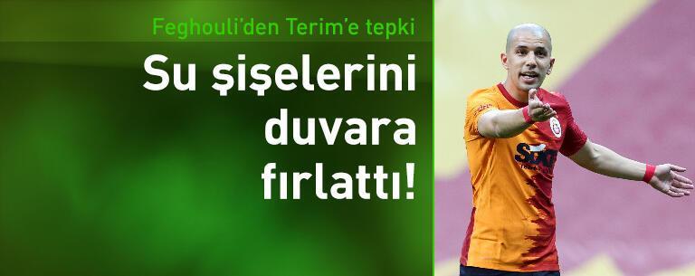Feghouli'den Fatih Terim'e sert tepki!