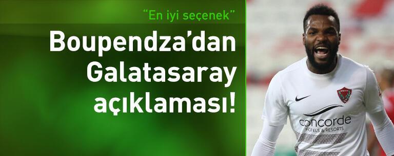 Boupendza'dan Galatasaray açıklaması!