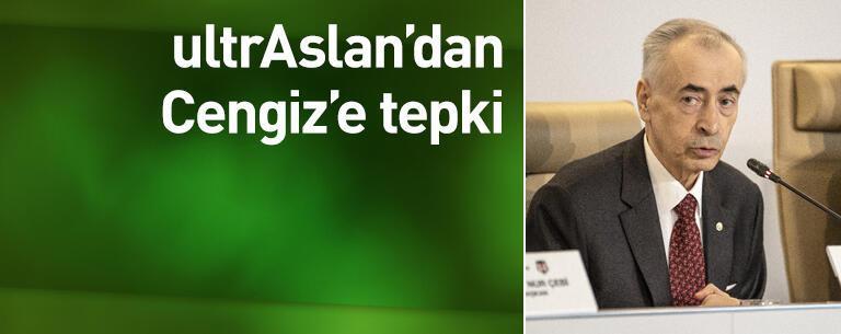 ultrAslan'dan Mustafa Cengiz'e tepki