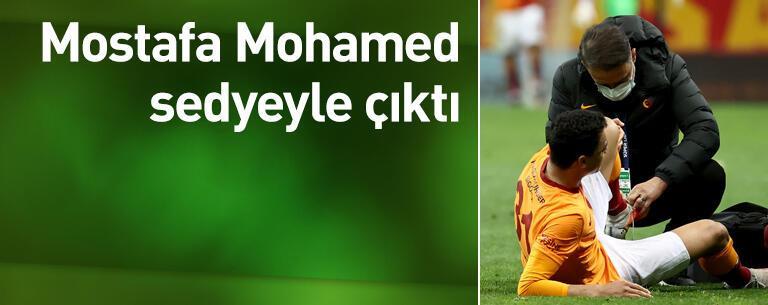 Mohamed sedyeyle çıktı