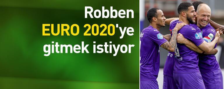 Robben EURO 2020'ye gitmek istiyor