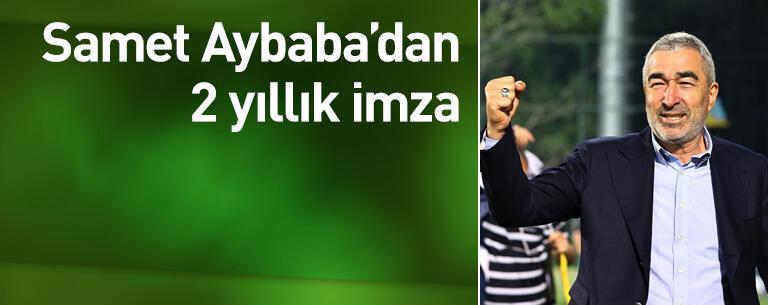 Aybaba'dan 2 yıllık imza