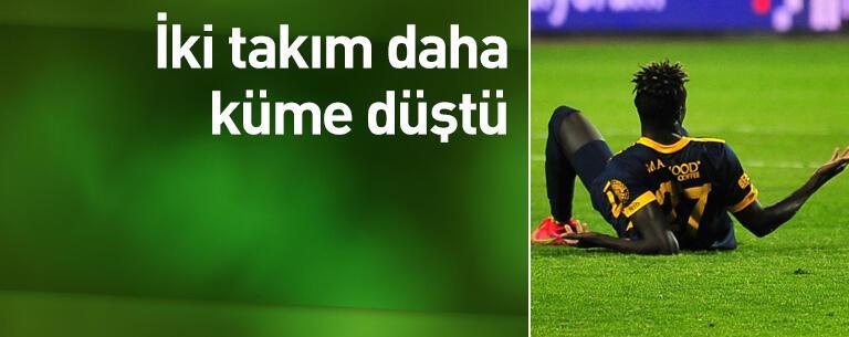 Süper Lig'de küme düşen takımlar