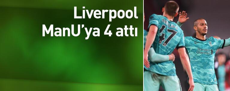 Liverpool 4 golle kazandı