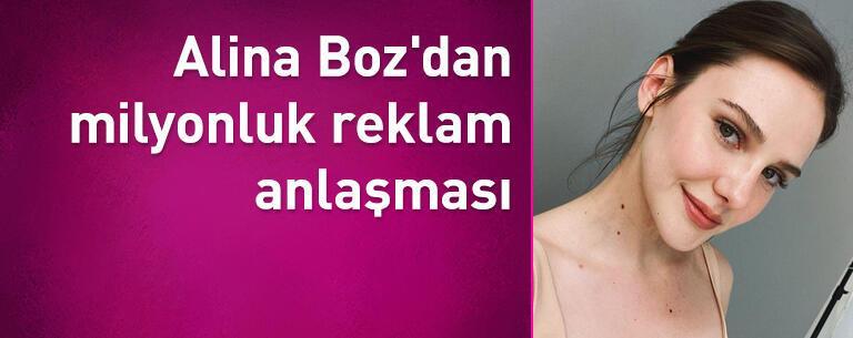 Alina Boz'dan milyonluk reklam anlaşması