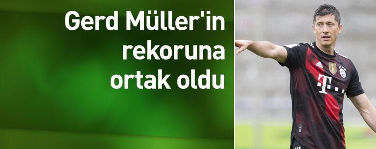 Gerd Müller'in rekoruna ortak oldu