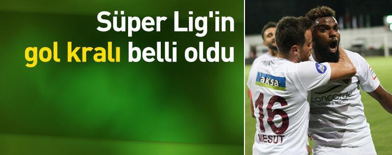 Süper Lig'in gol kralı belli oldu