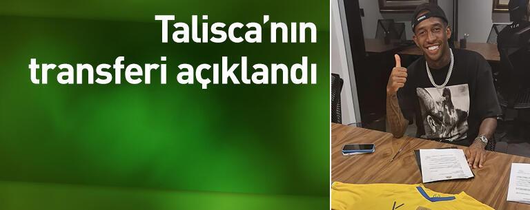 Talisca'nın transferi açıklandı