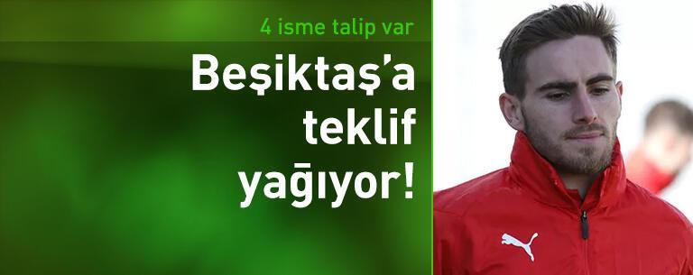Beşiktaşlı futbolculara teklif yağıyor!