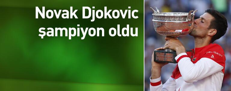 Djokovic şampiyon oldu