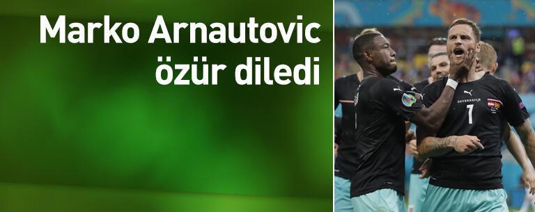 Arnautovic özür diledi
