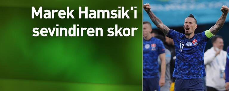 Marek Hamsik'i sevindiren skor