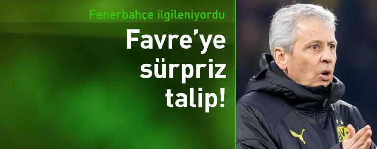Lille Lucien Favre'ye talip oldu!