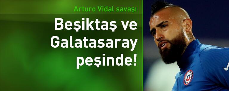 Beşiktaş ve Galatasaray Arturo Vidal için karşı karşıya!