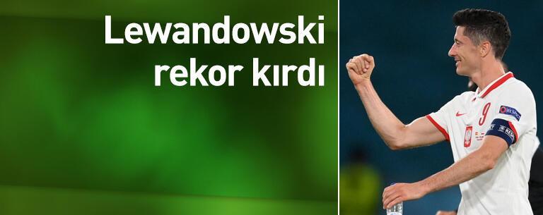 Lewandowski rekor kırdı