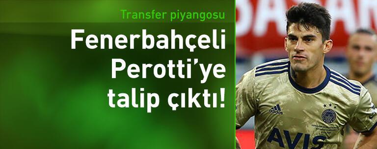 Diego Perotti'ye talip çıktı!
