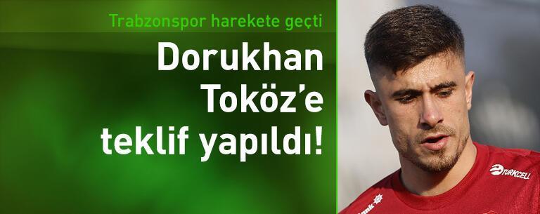 Trabzonspor Dorukhan Toköz'e teklif yaptı