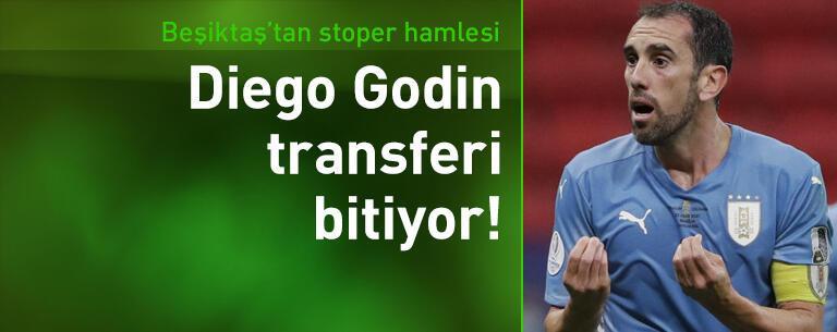 Beşiktaş Diego Godin'i bitiriyor!