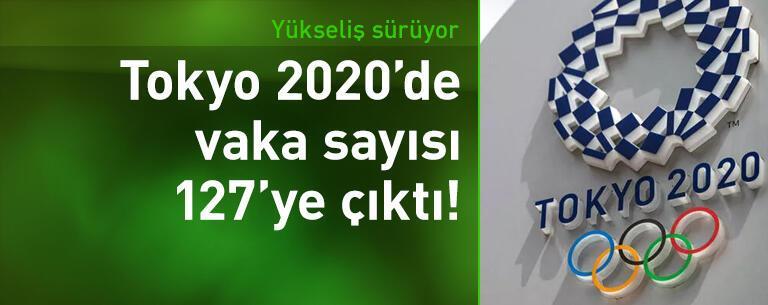 Tokyo 2020'de 127 koronavirüs vakası!