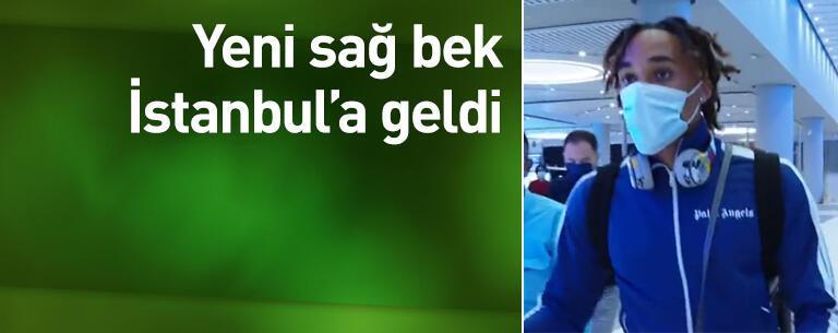 Sacha Boey İstanbul'a geldi